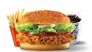 Hot_crispy_chiken_burger_set